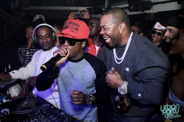 Busta Ryhmes, Lil Wayne Perform at Cameo Nightclub, Miami Beach